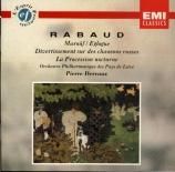 RABAUD - Dervaux - Mârouf, savetier du Caire : danses