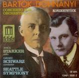 BARTOK - Starker - Concerto pour orchestre Sz.116 BB.123