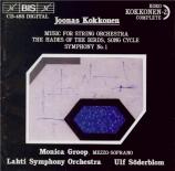 KOKKONEN - Söderblom - Symphonie n°1 (Kokkonen complete vol.2) Kokkonen complete vol.2
