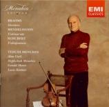 SCHUBERT - Menuhin - Fantaisie pour piano et violon en do majeur op.post