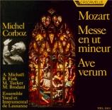MOZART - Corboz - Messe en ut mineur, pour solistes, choeur et orchestre