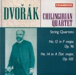 DVORAK - Chilingirian Qu - Quatuor à cordes n°12 op.96 'Américain'