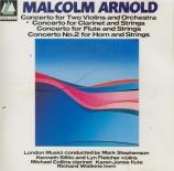 ARNOLD - Sillito - Concerto pour clarinette et cordes n°1 op.20