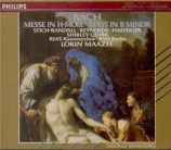BACH - Maazel - Messe en si mineur, pour solistes, choeur et orchestre BW
