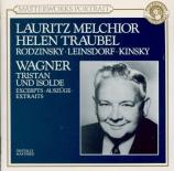 WAGNER - Melchior - Tristan und Isolde WWV.90 : extraits