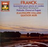 FRANCK - Collard - Quintette pour piano et cordes enfamineur FWV.7