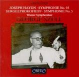 HAYDN - Szell - Symphonie n°93 en ré majeur Hob.I:93