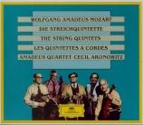 MOZART - Amadeus Quartet - Quintette à cordes n°1 en si bémol majeur K.1