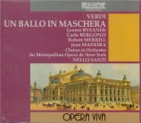 VERDI - Santi - Un ballo in maschera (Un bal masqué), opéra en trois act live MET 17 - 3 - 1962