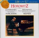 TCHAIKOVSKY - Horowitz - Concerto pour piano n°1 en si bémol mineur op.2