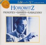 PROKOFIEV - Horowitz - Sonate pour piano n°7 en si bémol majeur op.83'S