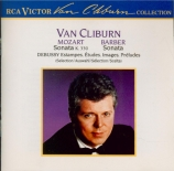 BARBER - Cliburn - Sonate pour piano op.26