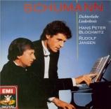 SCHUMANN - Blochwitz - Liederkreis (Eichendorff), cycle de douze mélodie
