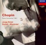 CHOPIN - Bolet - Concerto pour piano et orchestre n°1 en mi mineur op.11