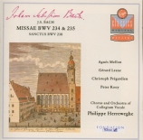 BACH - Herreweghe - Messe luthérienne en la majeur, pour solistes, choeur