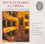 Deux guitares à l'opéra (Don Giovanni, Il Pirata, Der Freischütz...)