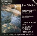SIBELIUS - Järvi - Humoresque pour violon et orchestre n°1 op.87 n°1