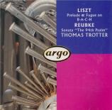 LISZT - Trotter - Prélude et fugue sur le nom de B-A-C-H, pour orgue S.2