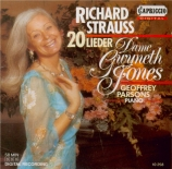 STRAUSS - Jones - Zueignung, pour voix et piano op.10 n°1
