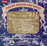 Johann Strauss and family in London (Oeuvres de J.Strauss..)