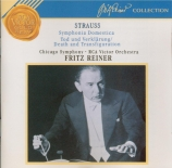 STRAUSS - Reiner - Symphonia domestica, pour grand orchestre op.53