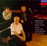 MOZART - Barenboim - Concerto pour deux pianos et orchestre n°10 en mi b