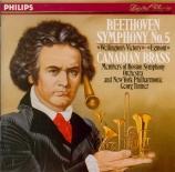 BEETHOVEN - Canadian Brass - Egmont, musique de scène pour orchestre op