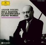 BARTOK - Foldes - Sonate pour piano Sz.80 BB.88