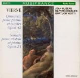 VIERNE - Quatuor Viotti - Quintette avec piano en ut mineur op.42