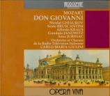 MOZART - Giulini - Don Giovanni (Don Juan), dramma giocoso en deux actes live RAI Roma, 12 - 5 - 1970