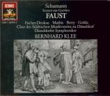 SCHUMANN - Klee - Szenen aus Goethes Faust (Scènes du Faust de Goethe)
