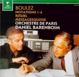 BOULEZ - Barenboim - Rituel