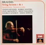 BRAHMS - Menuhin - Sextuor à cordes n°1 en si bémol majeur op.18
