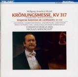 MOZART - Harnoncourt - Messe en do majeur, pour solistes, chœur, orgue e