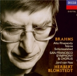 BRAHMS - Blomstedt - Schicksalslied (Chant du destin) (Hölderlin), mélod