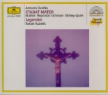 DVORAK - Kubelik - Stabat Mater, pour soprano, contralto, ténor, basse