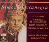 VERDI - Santini - Simon Boccanegra, opéra en trois actes