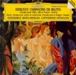 DEBUSSY - Ensemble Wien-B - Chansons de Bilitis, trois mélodies pour voi