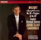 MOZART - Gardiner - Symphonie n°38 en ré majeur K.504 'Prague'