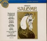 STRAUSS - Leinsdorf - Salomé, opéra op.54