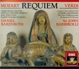 VERDI - Barbirolli - Messa da requiem, pour quatre voix solo, chœur, et