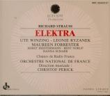 STRAUSS - Perick - Elektra, opéra op.58