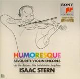 Humoresque Favourite Violin Encores