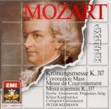 MOZART - Neumann - Messe en do majeur, pour solistes, chœur, orgue et or