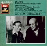 BRAHMS - Menuhin - Concerto pour violon et orchestre en ré majeur op.77
