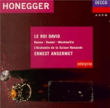 HONEGGER - Ansermet - Le roi David, oratorio H.37