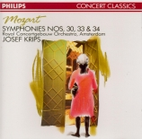 MOZART - Krips - Symphonie n°30 en ré majeur K.202 (K6.186b)