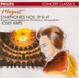 MOZART - Krips - Symphonie n°39 en mi bémol majeur K.543
