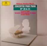 MOZART - Gulda - Concerto pour piano et orchestre n°20 en ré mineur K.46