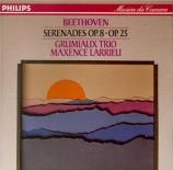 BEETHOVEN - Grumiaux Trio - Sérénade pour flûte, violon et alto op.25